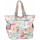 LeSportsac Bag -  LeSportsac Triple Trouble Tote Cloud Riders