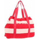 LeSportsac Bag -  Lesportsac Beach 7952 Tote Popsicle Red Stripe