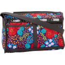 LeSportsac Taschen -  Lesportsac Women's Deluxe Shoulder Satchel 7519P Shoulder Bag Rose Garden