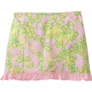 Lilly Pulitzer Skirts -  Lilly Pulitzer Girls 2-6X Mini Callie Scooter Skirt, Lillys Pink Mariposa, X-Small