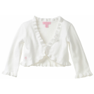 Lilly Pulitzer Bolero -  Lilly Pulitzer Girls 2-6x Little Vera Bolero Sweater Resort White
