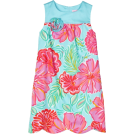 Lilly Pulitzer Haljine -  Lilly Pulitzer Girls 7-16 Little Lilly Scalloped Hem Shift Dress Shorely Blue Bellina