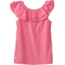 Lilly Pulitzer Top -  Lilly Pulitzer Girls 7-16 Mini Wynne Knit Top Hotty Pink