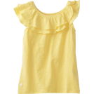 Lilly Pulitzer Top -  Lilly Pulitzer Girls 7-16 Mini Wynne Knit Top Starfruit Yellow