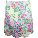 Lilly Pulitzer Skirts -  Lilly Pulitzer Lynne Skirt Resort White Mariposa Floral Cotton
