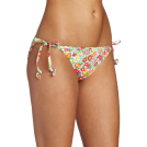 Lilly Pulitzer Costume da bagno -  Lilly Pulitzer Women's Sandy String Bikini Bottom, Resort White Mini Garden By The Sea, Small