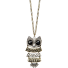Mango Pendants -  Mango Women's Chain With Oversize Owl Pendant