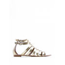Mango Sandals -  Mango Women's Gladiator Leather Sandals
