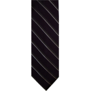 Tommy Hilfiger Tie -  Men's Tommy Hilfiger Neck Tie 100% Silk Purple/Charcoal/Silver Blend