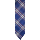 Tommy Hilfiger Tie -  Men's Tommy Hilfiger Necktie Neck Tie Silk Blue Plaid