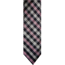 Tommy Hilfiger Tie -  Men's Tommy Hilfiger Necktie Neck Tie Silk Navy, Pink and Silver
