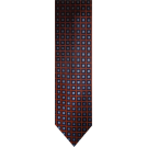 Tommy Hilfiger Tie -  Men's Tommy Hilfiger Necktie Neck Tie Silk Orange Navy & Blue