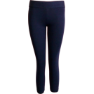 FineBrandShop Leggings -  Navy Blue Leggings Three Quarter Length