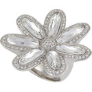 Petro Zillia Rings -  Michelle Monroe Crystal Flower