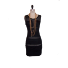 Petro Zillia Dresses -  Petro Zillia Black Mesh Dress
