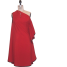 Petro Zillia Dresses -  Petro Zillia One Shoulder Red