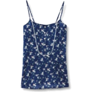 Quiksilver Top -  Quiksilver Womens Swam Bloom Cami Tank Top