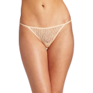 Rampage Thongs -  Rampage Women's Lace Thong Nude