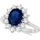 diamonds15 Rings -  Sapphire Diamond Ring