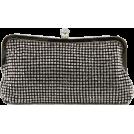 Scarleton Clutch bags -  Scarleton Elegant Crystal Clutch H3008 Black