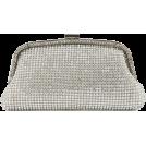 Scarleton Clutch bags -  Scarleton Elegant Crystal Clutch H3009 Silver