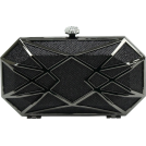 Scarleton Clutch bags -  Scarleton Hard Case Clutch H3054 Black