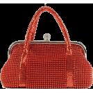 Scarleton Clutch bags -  Scarleton Metal Mesh Clutch H3010 Red