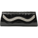 Scarleton Clutch bags -  Scarleton Metallic Clutch With Crystals H3015 Black