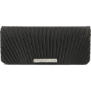 Scarleton Clutch bags -  Scarleton Satin Flap Clutch With Crystals H3017 Black