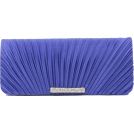 Scarleton Clutch bags -  Scarleton Satin Flap Clutch With Crystals H3017 Blue