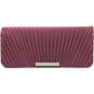 Scarleton Clutch bags -  Scarleton Satin Flap Clutch With Crystals H3017 Purple