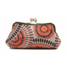 Scarleton Clutch bags -  Scarleton Soft Frame Clutch H3005 Orange