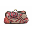 Scarleton Clutch bags -  Scarleton Soft Frame Clutch H3005 Pink