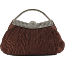Scarleton Clutch bags -  Scarleton Soft Frame Clutch H3022 - Pink Coffee