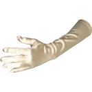 PacificPlex Gloves -  Stretch Satin Dress Gloves Forearm Length