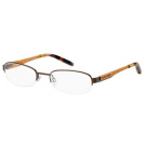 Tommy Hilfiger Očal -  TOMMY HILFIGER Eyeglasses 1164 0V68 Dark Brown / Yellow 53mm