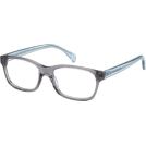 Tommy Hilfiger Očal -  TOMMY HILFIGER Eyeglasses 1168 0V8Y Gray / Light Azure 52mm