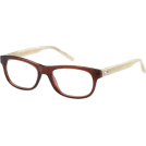 Tommy Hilfiger Prescription glasses -  TOMMY HILFIGER Eyeglasses 1170 0V98 Burgundy / White Horn 50mm