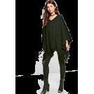 Modalist Swetry na guziki -  Tassel Poncho,Fashion