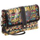 The SAK Clutch bags -  The SAK Artist Circle 3-In-1 Clutch Neon One World