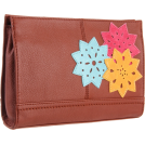The SAK Clutch bags -  The Sak Iris Demi Clutch Maple Flower