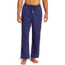 Tommy Hilfiger Pajamas -  Tommy Hilfiger Men's Flannel Plaid Sleep Pant Midnight Blue
