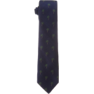 Tommy Hilfiger Tie -  Tommy Hilfiger Men's Palm Tree Club Necktie Navy