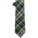 Tommy Hilfiger Tie -  Tommy Hilfiger Men's Satin Bar Stripe Necktie Green