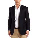 Tommy Hilfiger Jacket - coats -  Tommy Hilfiger Men's Two Button Trim Fit Blazer Navy
