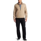 Tommy Hilfiger Jacket - coats -  Tommy Hilfiger Men's Zip Front Jacket Khaki
