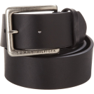 Tommy Hilfiger Cinture -  Tommy Hilfiger Mens Casual Bridle Belt Black