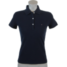 Tommy Hilfiger Camicie (corte) -  Tommy Hilfiger Slim Fit Womens Pique Polo Shirt Navy