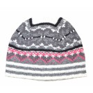 Tommy Hilfiger Hat -  Tommy Hilfiger Women Winter Beanie Hat White/black/grey/pink