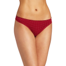 Tommy Hilfiger Thongs -  Tommy Hilfiger Women's Ruched Thong Red Dot